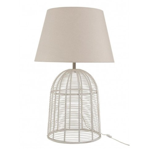 Lampe Barres Bambou Blanc Large | www.cosy-home-design.fr