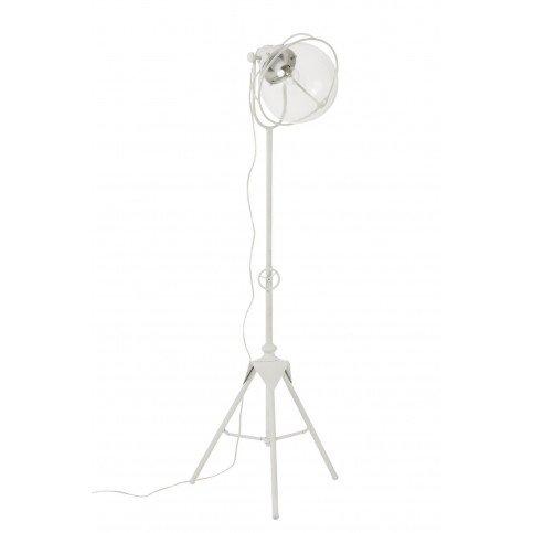Lampe Trépied Métal/Verre Blanc | www.cosy-home-design.fr