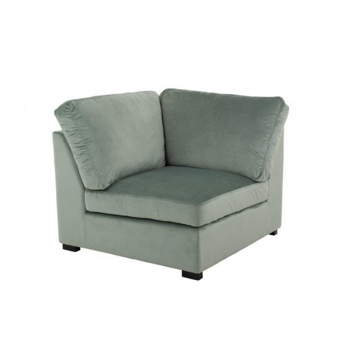 Fauteuil Coin Velours Menthe | www.cosy-home-design.fr