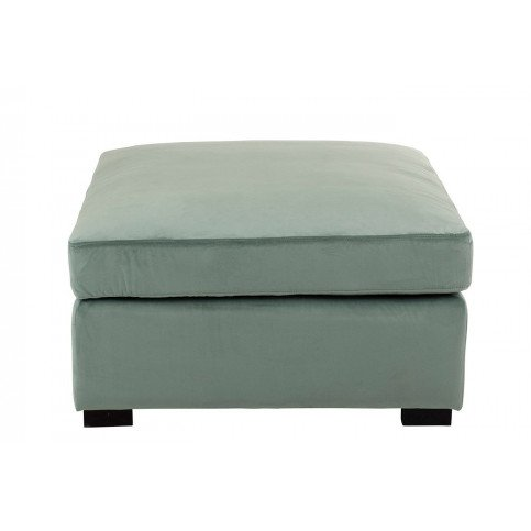 Pouf Velours Menthe | www.cosy-home-design.fr