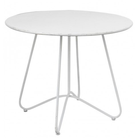 Table Ronde Métal Blanc | www.cosy-home-design.fr