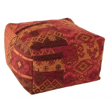 Pouf Africain Polyacrylique Mix | www.cosy-home-design.fr