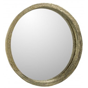 Miroir Résine Or Large | www.cosy-home-design.fr