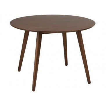 Table Ronde Vintage Bois Marron | www.cosy-home-design.fr