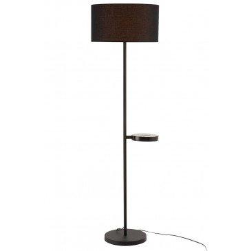 Lampe Chargeur De Gsm Métal Noir | www.cosy-home-design.fr