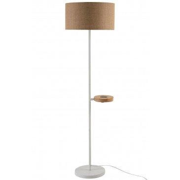 Lampe Chargeur De Gsm Métal Blanc | www.cosy-home-design.fr