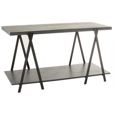 Table De Presentation Bois/Métal Gris | www.cosy-home-design.fr