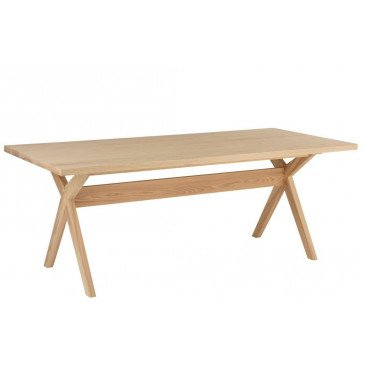 Table A Manger Scandinave Bois Naturel | www.cosy-home-design.fr