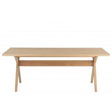 Table A Manger Scandinave Bois Naturel   www.cosy-home-design.fr