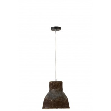 Suspension Ceramique Marron Petit | www.cosy-home-design.fr