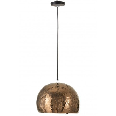 Suspension 1/2 Boule Ceramique Bronze | www.cosy-home-design.fr