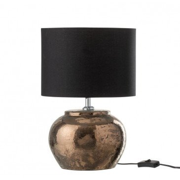 Lampe Céramique Bronze Small | www.cosy-home-design.fr