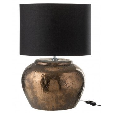 Lampe Céramique Bronze Large | www.cosy-home-design.fr