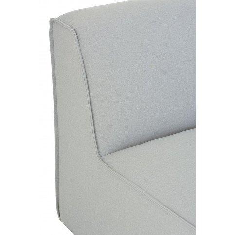 Fauteuil Rectangulaire Textile/Bois Beige | www.cosy-home-design.fr