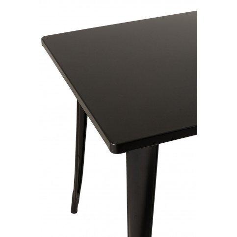 Table Bistro Métal Noir | www.cosy-home-design.fr