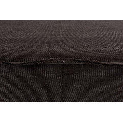 Banc Rectangulaire Textile/Métal Gris | www.cosy-home-design.fr