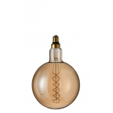 Ampoule Amber G200 Double Spirale E27 | www.cosy-home-design.fr