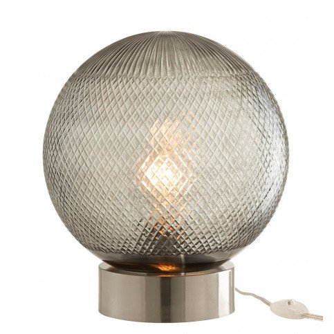 Lampe Boule Verre Argent | www.cosy-home-design.fr