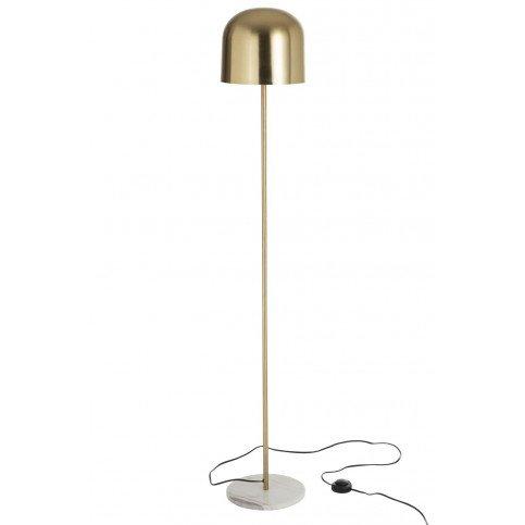 Lampe Sur Pied Queen Métal/Marbre Or | www.cosy-home-design.fr
