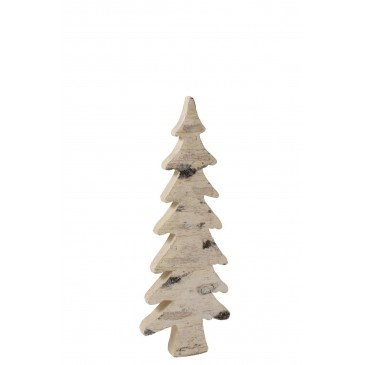 Sapin De Noël Ecorce Naturel Petit | www.cosy-home-design.fr