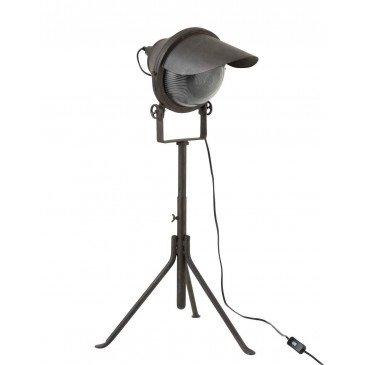 Lampe Spot Sur Pied Métal Noir | www.cosy-home-design.fr