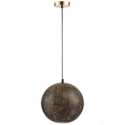 Suspension Cavites Métal Or/Laque Noir | www.cosy-home-design.fr