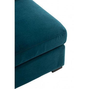 Fauteuil Coin Velours Vert | www.cosy-home-design.fr