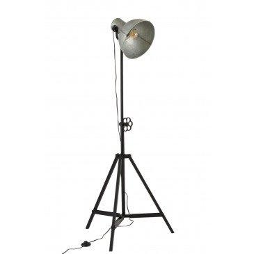 Lampe Ajustable Industrielle Métal Noir/Gris | www.cosy-home-design.fr
