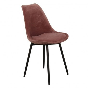Chaise Style Contemporain Coloris Rose Brindille | www.cosy-home-design.fr