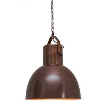 Suspension Style Industriel Cuivre Farmer | www.cosy-home-design.fr