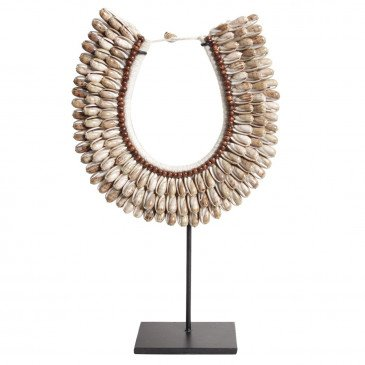 Collier Style Ethnique Coquillages Touba | www.cosy-home-design.fr