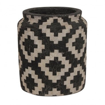 Vase Style Ethnique Céramique Touba | www.cosy-home-design.fr