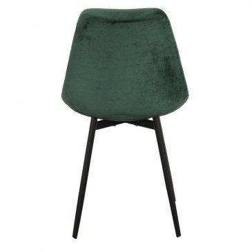 Chaise Style Contemporain Coloris Vert Emeraude Brindille | www.cosy-home-design.fr