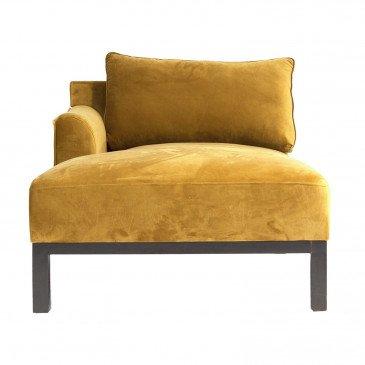 Canapé Ocre Style Classique en Pin et Polyester Tours | www.cosy-home-design.fr