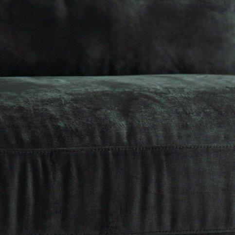 Canapé Gris Pétrole Style Classique en Pin et Polyester Tapar | www.cosy-home-design.fr