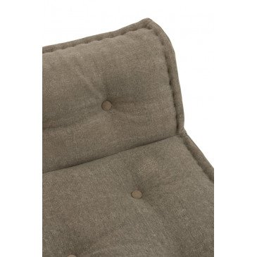 Coussin Dossier Coton Marron | www.cosy-home-design.fr
