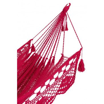 Hamac Crochet Coton Rose | www.cosy-home-design.fr