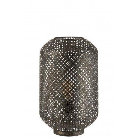 Lampe De Table Orientale Métal Noir | www.cosy-home-design.fr