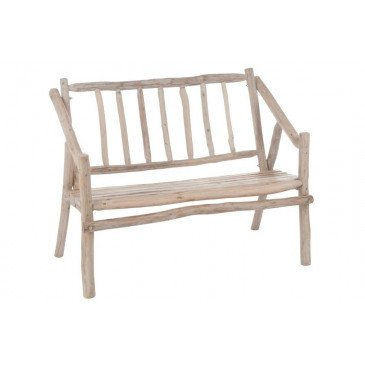 Banc Accoudoir Branches Bois Naturel | www.cosy-home-design.fr