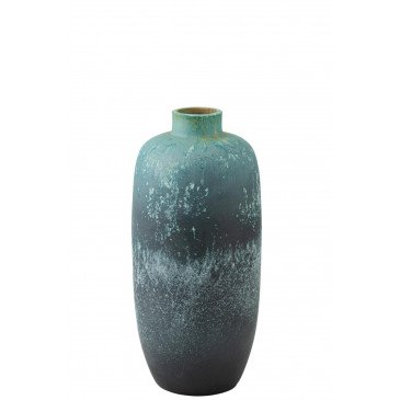 Vase Vintage Céramique Azur Medium | www.cosy-home-design.fr
