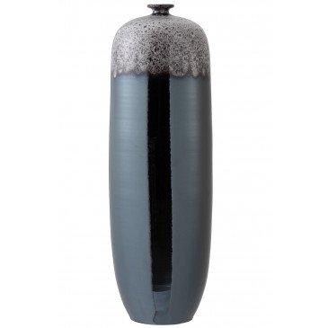 Vase Tâche Céramique Métal Marron/Gris Extra Large | www.cosy-home-design.fr