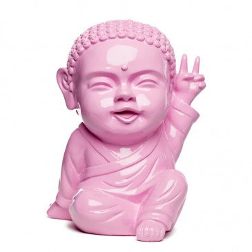 Figurine Iki Buddha Pop Glossy Rose Layette | www.cosy-home-design.fr