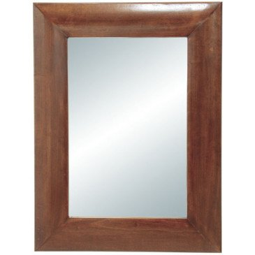 Miroir Style Asiatique Bois Massif Ying | www.cosy-home-design.fr