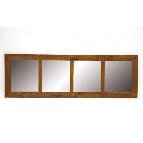 Miroir Double Style Contemporain Bois Massif Mahon | www.cosy-home-design.fr