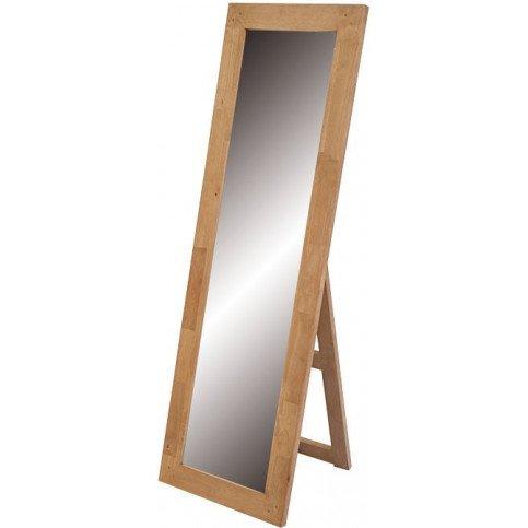 Miroir sur Pied Style Scandinave Bois Massif Skur | www.cosy-home-design.fr