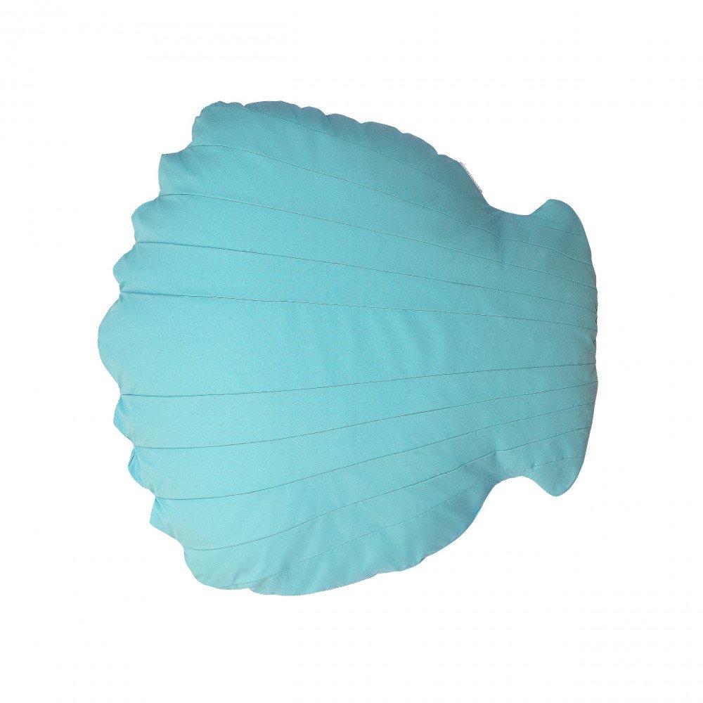 Pouf Piscine Flottant Coquillage Bleu Ciel XL