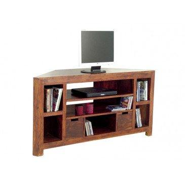 Meuble TV Padang de Style Ethnique en Palissandre 127cm | www.cosy-home-design.fr