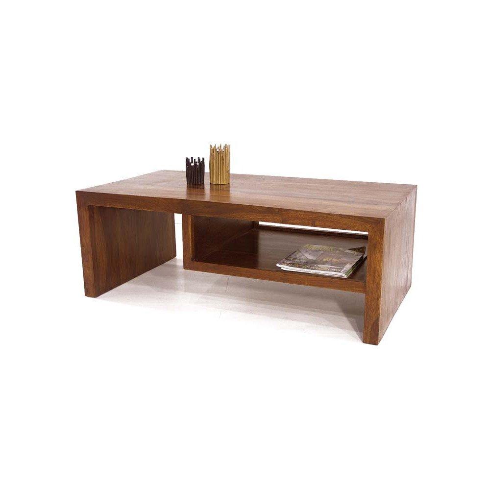 Table Basse Tanete de Style Ethnique en Palissandre I   www.cosy-home-design.fr