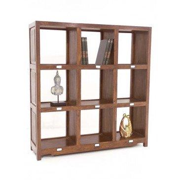 Bibliothèque Tanete de Style Ethnique en Palissandre 132cm | www.cosy-home-design.fr