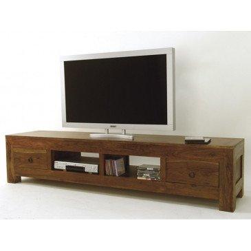 Meuble TV Padang de Style Ethnique en Palissandre I | www.cosy-home-design.fr